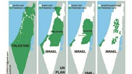 Epurarea etnică a palestinienilor în statul terorist Israel