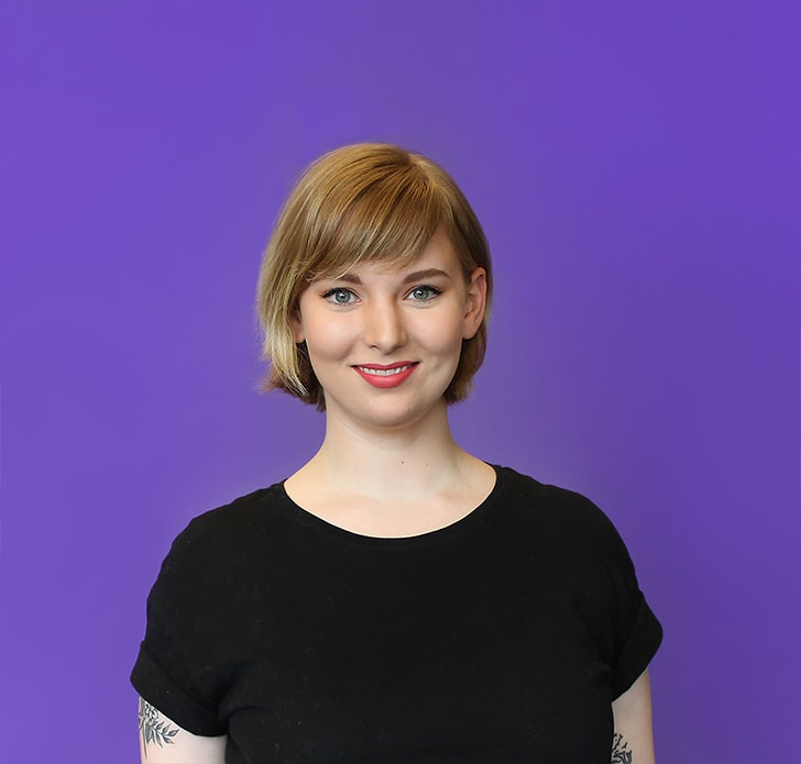 Roboboogie employee LACIE WEBB, DIRECTOR OF DESIGN