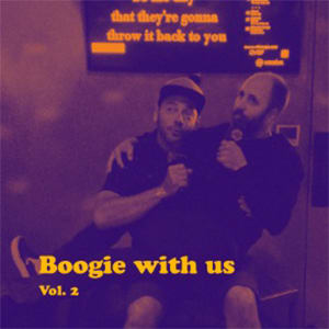 Boogie with us volumn 2 album cover