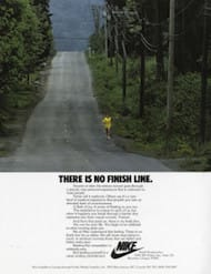 nike - there is no finish line ad