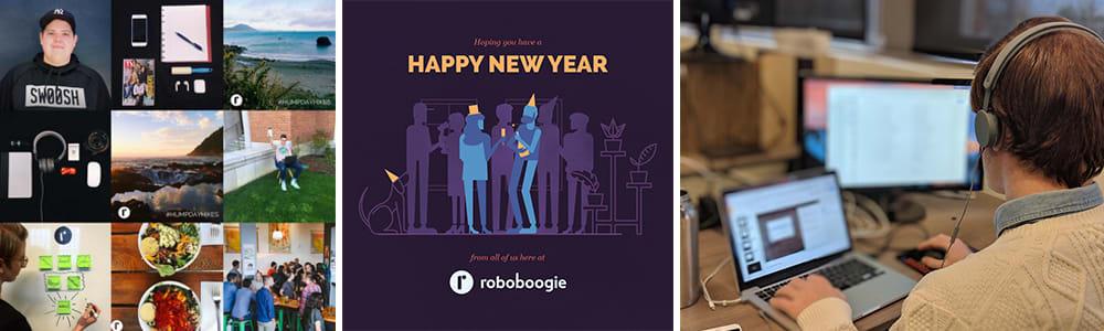 roboboogie social media highlights of 2017