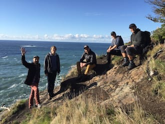 roboboogie team in Seaside, OR at the Fall retreat