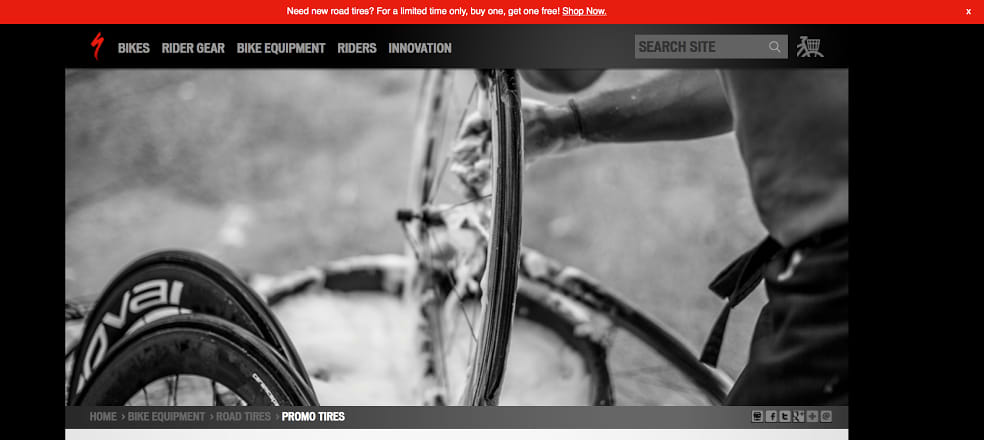 Specialized bikes buy-one-get-one offer for Let's Go Dutch campaign