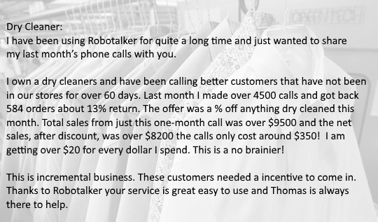 Text messaging and caling service Automated Phone Calls Robocall ...