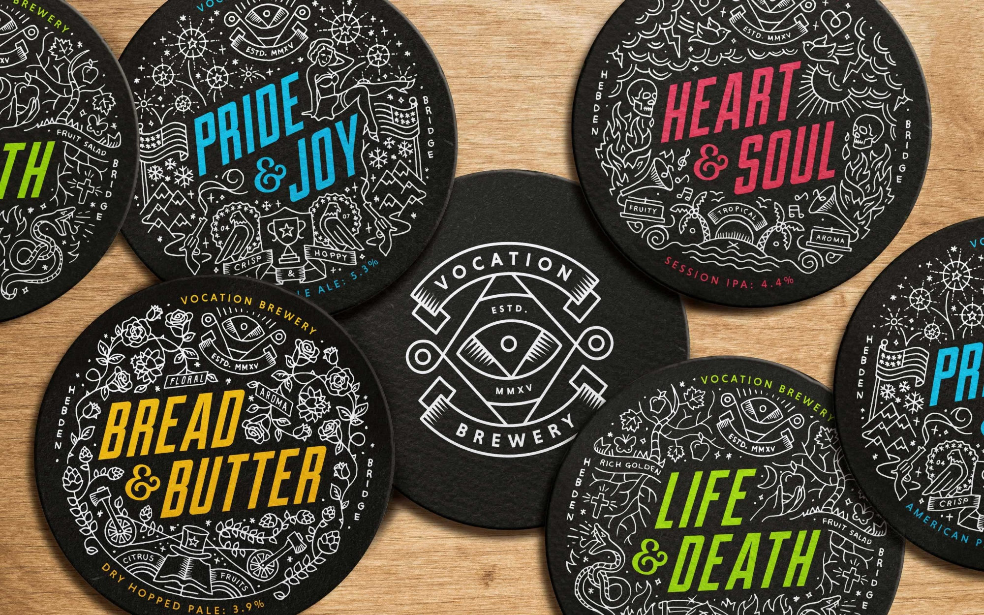 Vocationcs New 10 Coasters