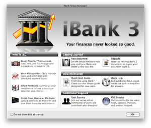 iBank Home Page
