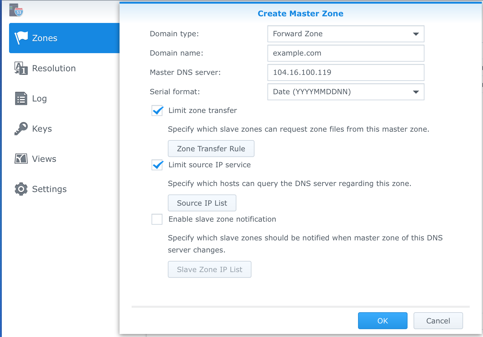 Rob Pickering: Configuring Synology for Forward and Reverse