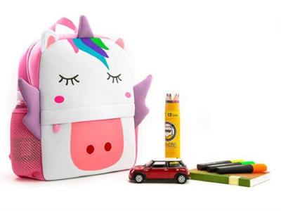 Ultra Light Children's School Backpack for Child's Comfort, Waterproof, High Quality Neoprene