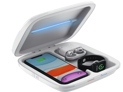 UV Light Sterilizer Wireless Charger for Smart phones, Watches, Masks, Keys1