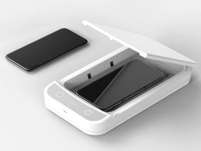 UV Lights Portable Sanitizer Sterilizer Box, Aromatherapy Function, Disinfect Smart Phone, keys etc1