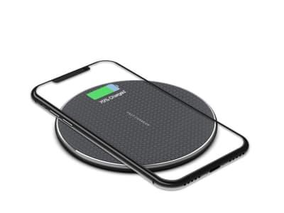 Cargador Inalámbrico 10W Qi Wireless Carga Rápida para iPhone, Samsung, etc... (Clase A+++)