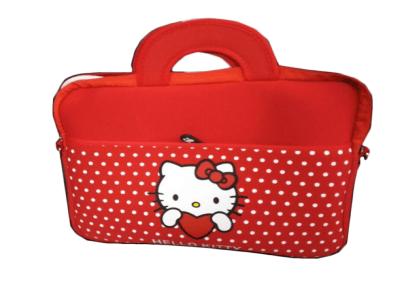 """Funda para Ordenadores Portátiles 13""""-17"""", Funda Protectora Neopreno alta densidad, Hello Kitty"""