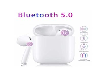 I20 TWS Auriculares In-Ear inalámbricos Bluetooth 5.0. Reducción de Ruido Incorporado, Carga Rápida