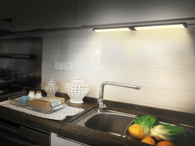 3 Barras de Mostrador LED con Rango Regulable de 5% -100% de Brillo