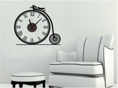 Bicicleta, Reloj Pared Quartz, Vinilo Alta Calidad, Decorativo y Funcional, Hogar, Oficina, etc