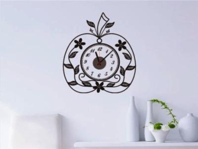 Atractiva Mariposa Negra, Reloj Pared Quartz, Vinilo Alta Calidad, Decorativo y Funcional, Hogar, Of