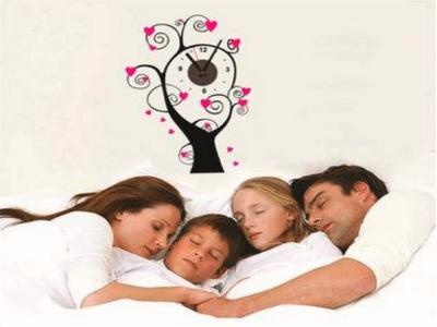 Árbol de Amor, Reloj Pared Quartz, Vinilo Alta Calidad, Decorativo y Funcional, Hogar, Oficina, etc