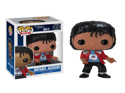 "POP Toys Michael Jackson, Figura de Vinilo modelo ""Beat it"""