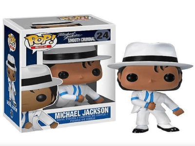 """POP Toys Michael Jackson, figura de vinilo modelo """"Michael Jackson"""""""
