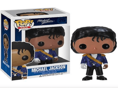 "POP Toys Michael Jackson, figura de vinilo modelo ""Smooth Criminal"""