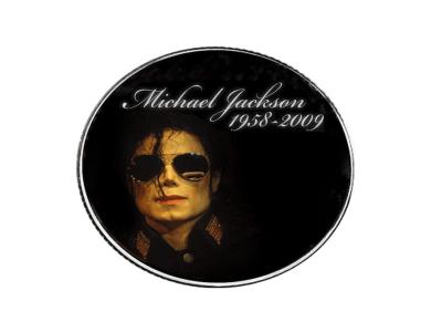 Moneda Coleccionista Alta Artesanía del ídolo del POP, Michael Jackson, Tamaño 40x3mm, Moneda Nº4