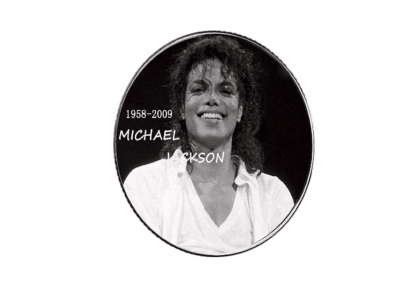 Collector's Coin High Craftsmanship of the POP idol, Michael Jackson, Size 40x3mm, Coin No.5