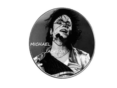 Moneda Coleccionista Alta Artesanía del ídolo del POP, Michael Jackson, Tamaño 40x3mm, Moneda Nº6