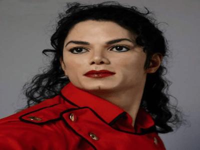 Estatua Realista de Michael Jackson de Resina de Silicona, Tamaño Real