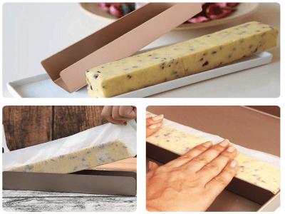 """Molde de 9,5""""/24cm de Acero al Carbono de Alta Calidad + Revestimiento Antiadherente para galletas e"""