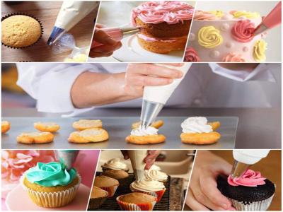 29 piezas, Conjunto de Puntas de Glaseado para Decoración de Pasteles, Acopladores de Plástico para