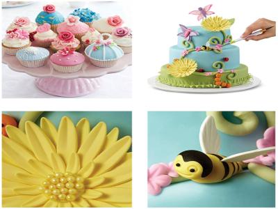 Set 7 piezas de Plástico para Decoración de Pasteles, Escultura, Modelado, Fondant, Juego de Herrami
