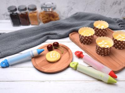 Pluma de Silicona para Decoración de Pasteles con Chocolate, Crema, etc, Alta Calidad