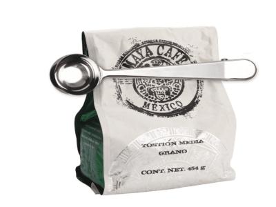 Cuchara Medidora de Acero Inoxidable con Clip para Café, Té, etc, Alta Calidad