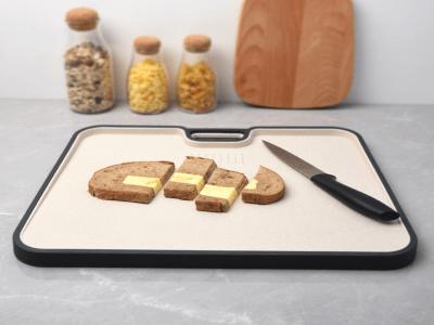 Tabla de Cortar, Diseño Antideslizante, Doble cara Antibacteriana con Rallador de Ajo, Alta Calidad
