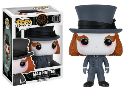 POP, Figura de Vinilo Coleccionable, Alicia through the looking glass, Mad Hatter, Nº181