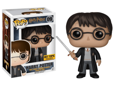 POP, Figura de Vinilo Coleccionable, Harry Potter, with Sword, Nº09