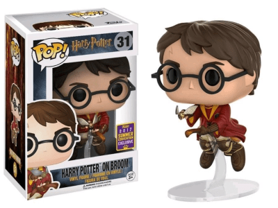 POP, Figura de Vinilo Coleccionable, Harry Potter, On Broom, Nº31