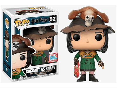 POP, Figura de Vinilo Coleccionable, Harry Potter, Boggart as Snape, Nº52