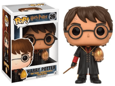 POP, Figura de Vinilo Coleccionable, Harry Potter, Gold Egg, Nº26