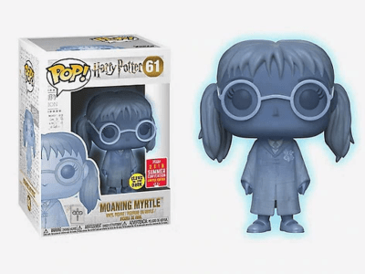 POP, Figura de Vinilo Coleccionable, Harry Potter, Moaning Myrtle, Nº61