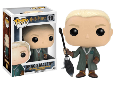 POP, Figura de Vinilo Coleccionable, Harry Potter, Draco Malfoy, Nº19