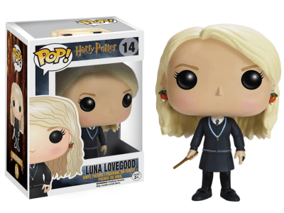 POP, Figura de Vinilo Coleccionable, Harry Potter, Luna Lovegood, Nº14