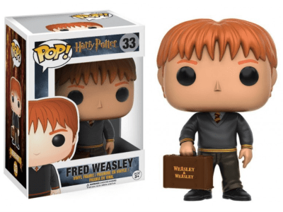POP, Figura de Vinilo Coleccionable, Harry Potter, Fred Weasley, Nº33