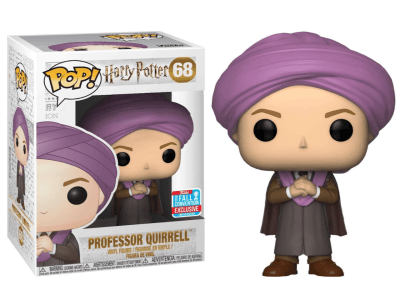 POP, Figura de Vinilo Coleccionable, Harry Potter, Professor Quirrell, Nº68