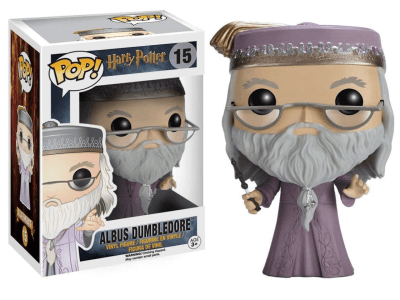 POP, Figura de Vinilo Coleccionable, Harry Potter, Albus Dumbledore, Nº15