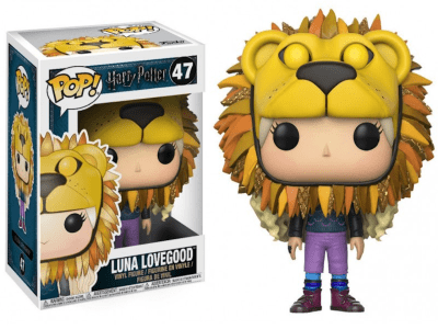 POP, Figura de Vinilo Coleccionable, Harry Potter, Luna Lovegood, Nº47