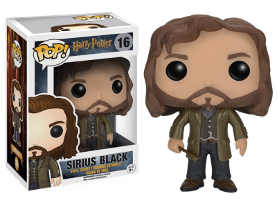 POP, Figura de Vinilo Coleccionable, Harry Potter, Sirius Black, Nº16