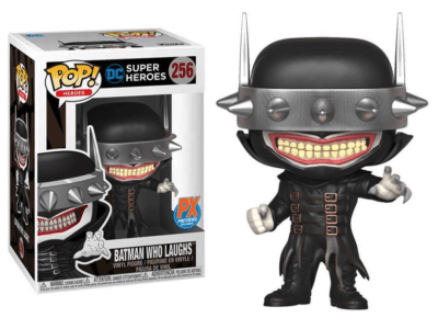 POP, Figura de Vinilo Coleccionable, Super Heroes DC, Batman Who Laughs, Nº256