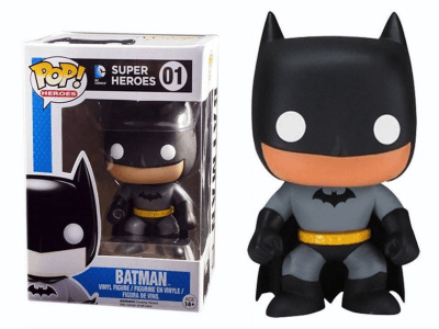 POP, Figura de Vinilo Coleccionable, Super Heroes DC, Batman, Nº01