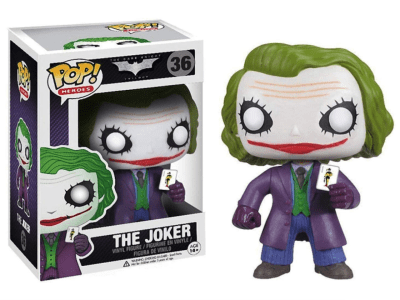 POP, Figura de Vinilo Coleccionable, Super Heroes DC, The Jocker, Nº36